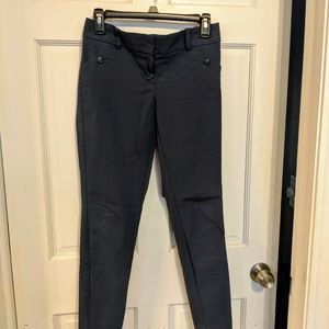 Size 4 The Limited Exact Stretch Navy Blue Pants